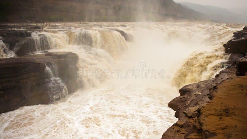 Hukou Wasserfall stockbilder