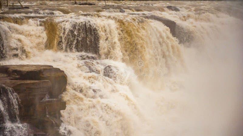Hukou Wasserfall stockbild
