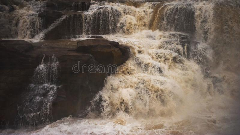Hukou Wasserfall stockfoto
