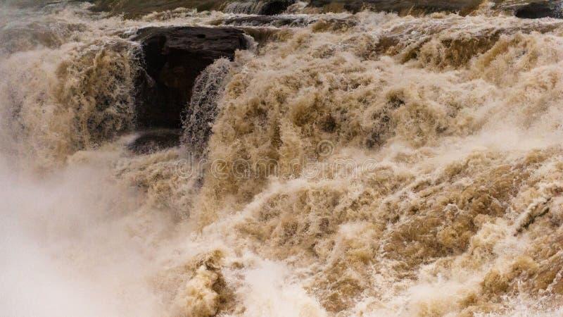 Hukou Wasserfall stockfotografie