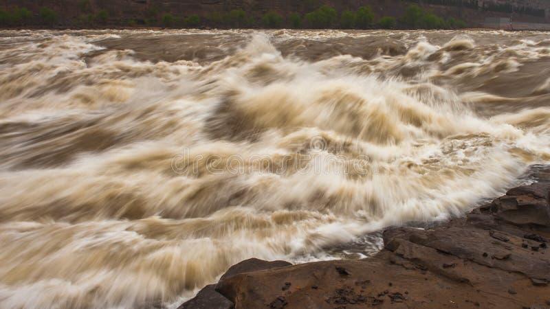 Hukou Wasserfall lizenzfreie stockfotografie