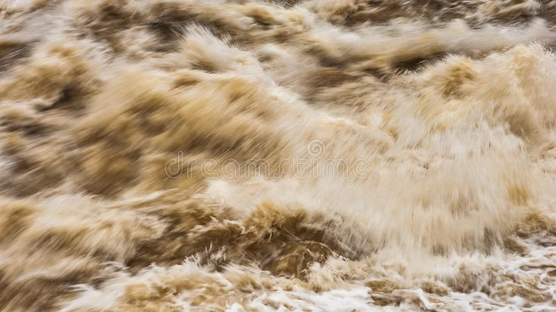 Hukou Wasserfall stockfotos