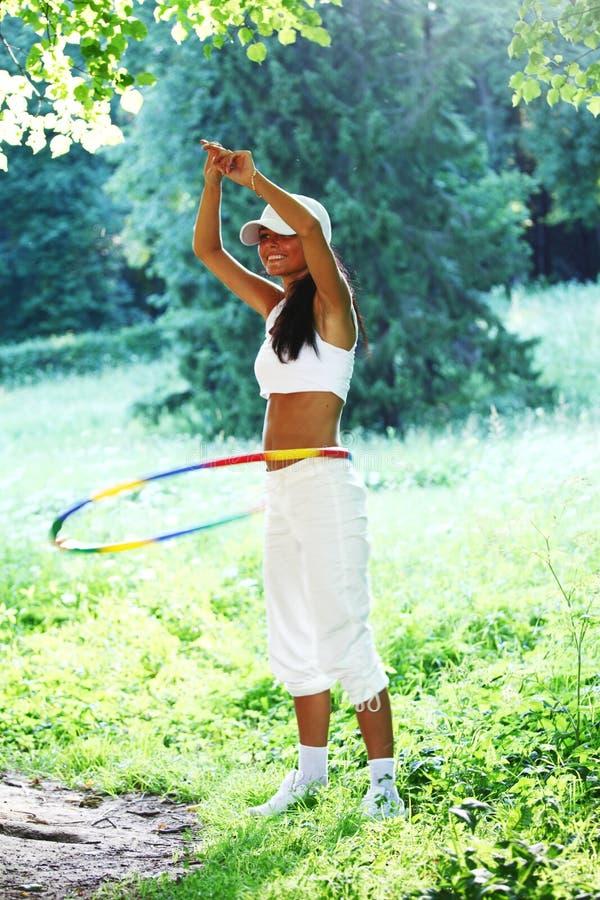 hula στεφανών στοκ φωτογραφία με δικαίωμα ελεύθερης χρήσης