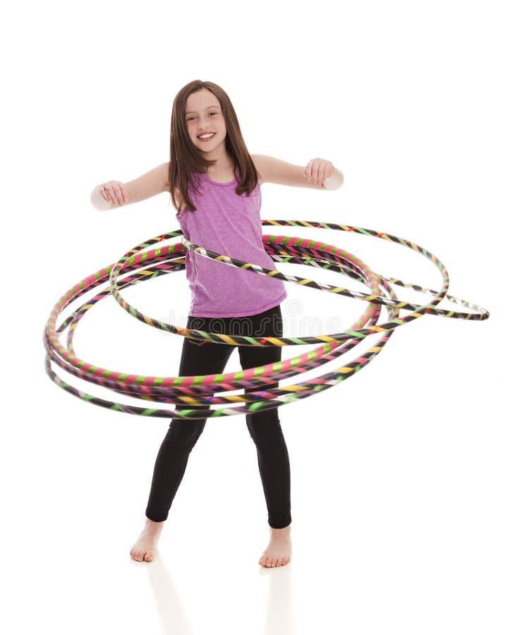 Hula-Band-Spaß stockbild