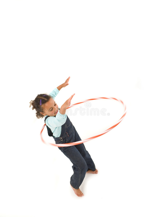 hula de cercle photo libre de droits