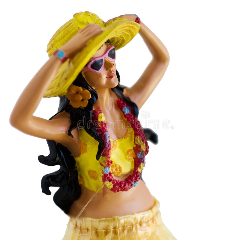 Download Hula Girl stock image. Image of figurine, knack, dancer - 6471341