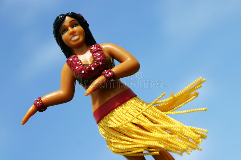 Hula girl royalty free stock images