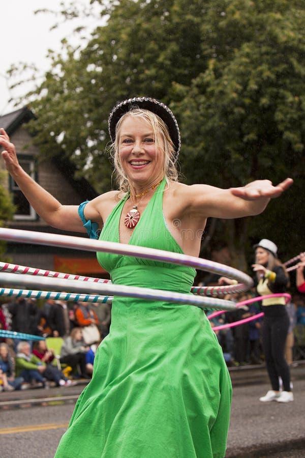 Download Hula Hoop Performer editorial stock image. Image of 2011 - 22995684