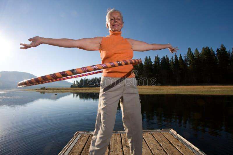 hula jeziora zdjęcia royalty free