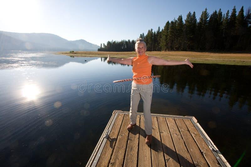 hula jeziora zdjęcia stock