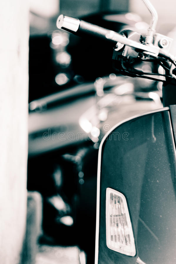 hulajnoga włoski vespa zdjęcie royalty free