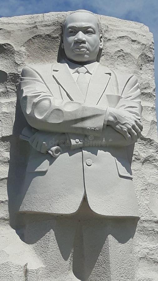 Hulde Martin Luther King Jr royalty-vrije stock afbeeldingen