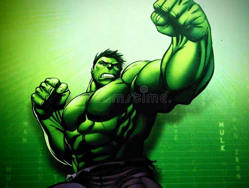 hulk immagini stock