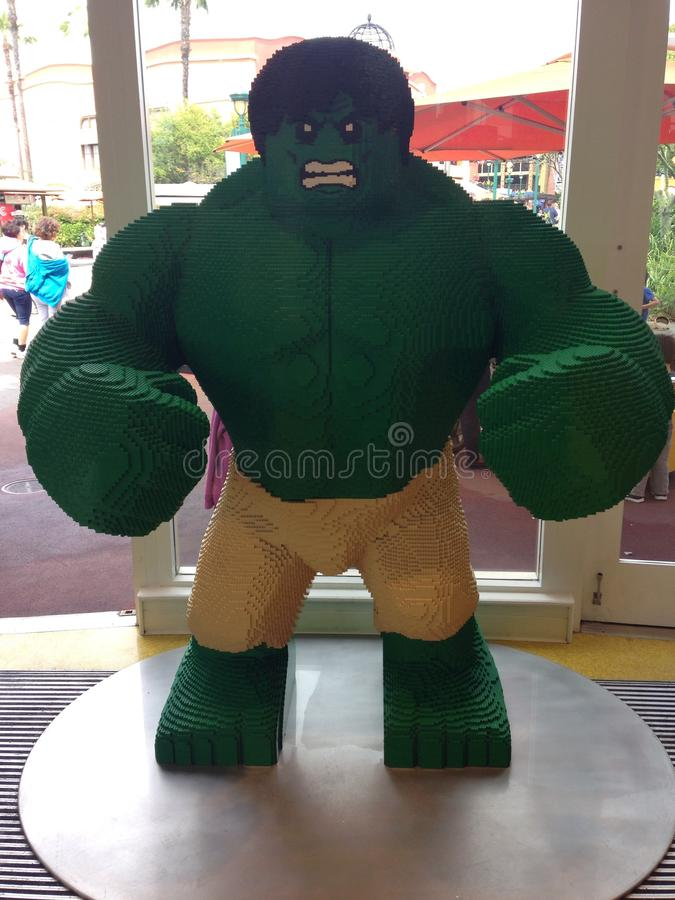 The Hulk royalty free stock photo