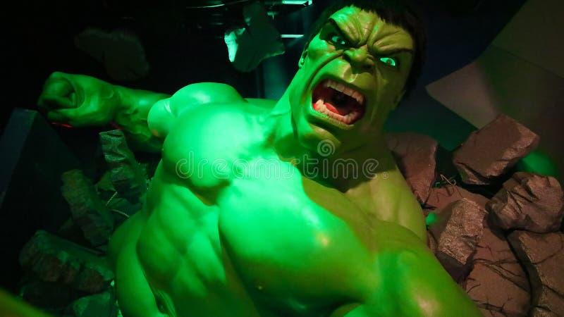 Hulka giganta model obraz stock