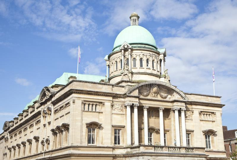 Hull City Hall. City hall in Kingston upon Hull, East Yorkshire stock image