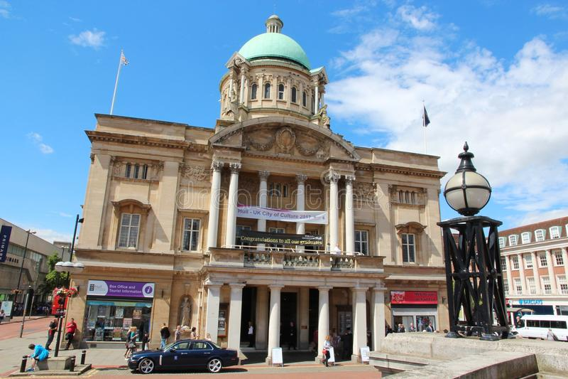 Hull City Hall - Kingston Upon Hull stock photography