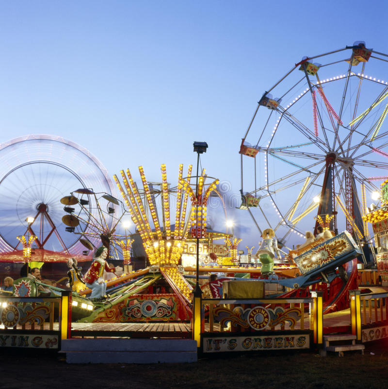 Download Hull Fair stock image. Image of funfair, wheel, fair - 87379277