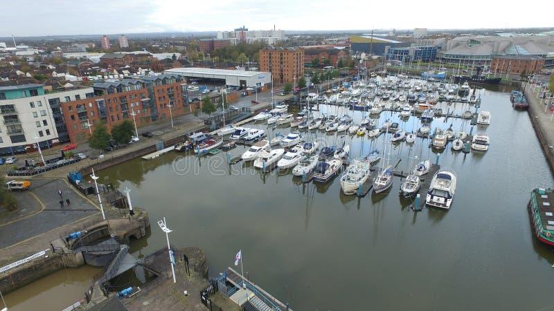 Hull Marina royalty free stock photo