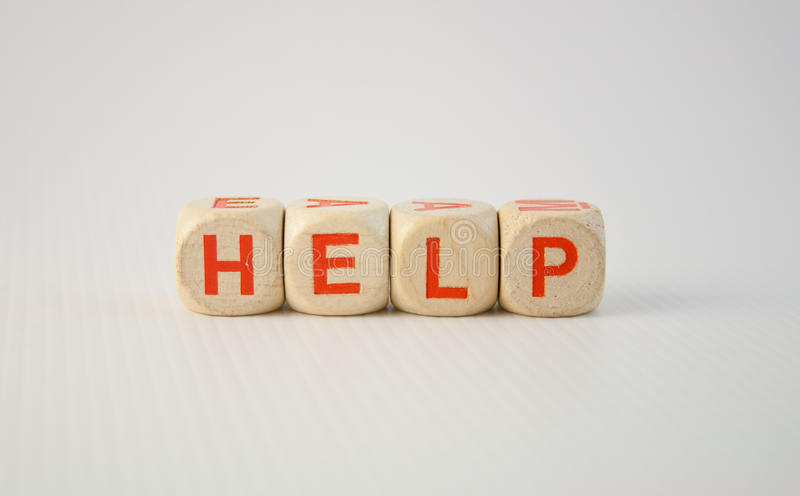 Hulp stock afbeelding