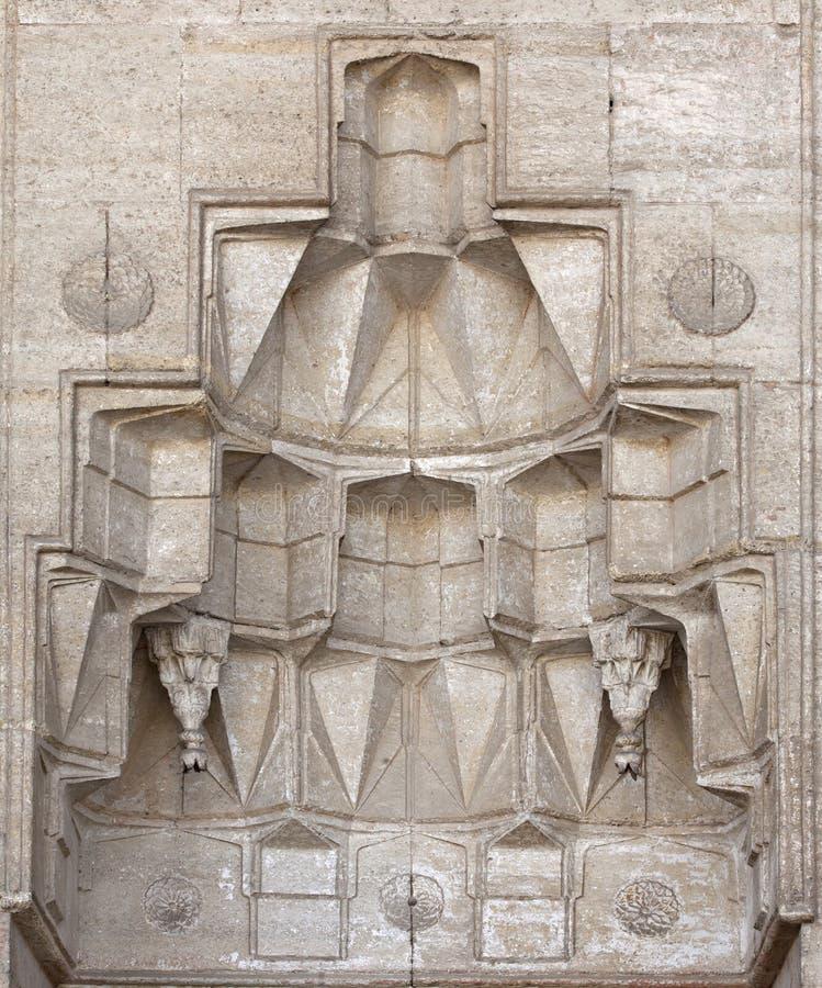 Hulp in Moskee Selimiye stock fotografie