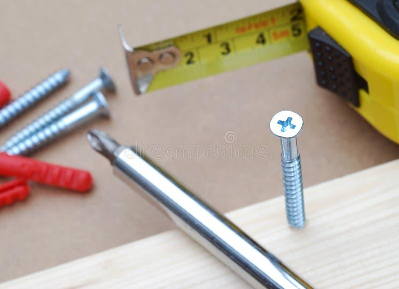Hulpmiddelen DIY stock afbeelding