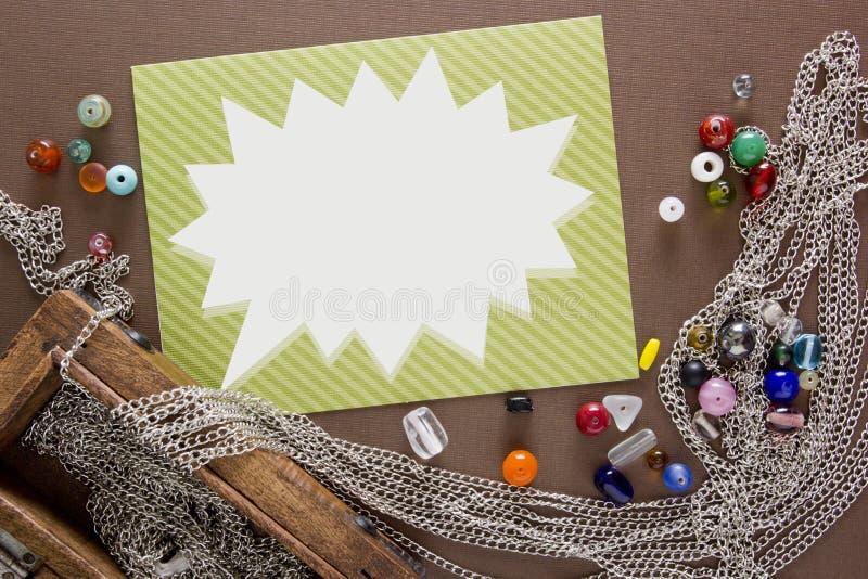 Hulpmiddelen en punten voor juwelen stock afbeelding