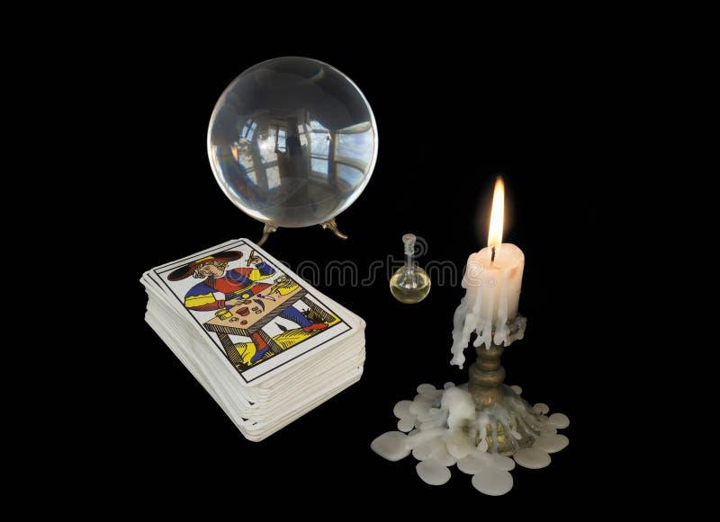 Hulpmiddelen van de tovenaar royalty-vrije stock afbeelding
