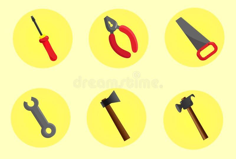 Hulpmiddelen voor bouwers stock fotografie