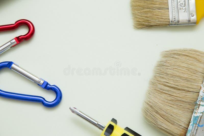 Hulpmiddelen voor huis reapair royalty-vrije stock afbeeldingen