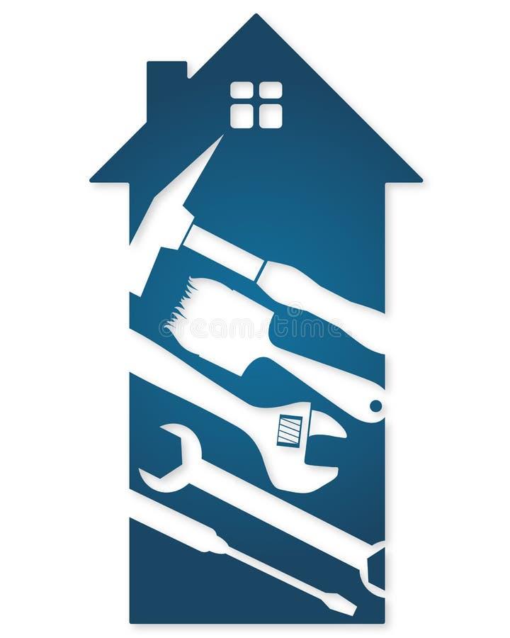 Hulpmiddelen voor huisvernieuwing vector illustratie