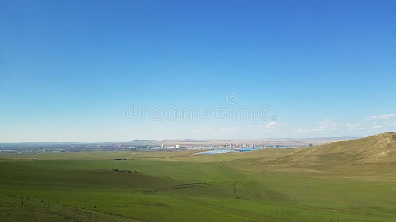 Hulun Buir grassland, the World`s Admired stock photography