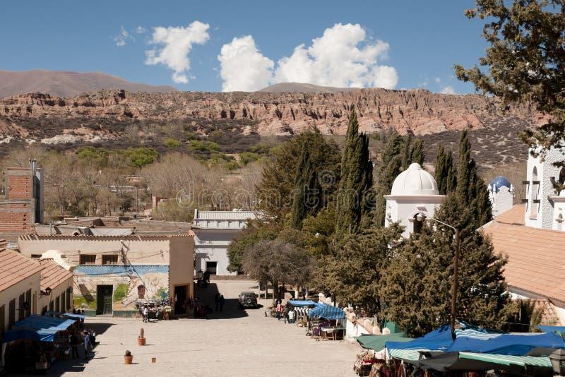 Humahuaca - Jujuy - Αργεντινή στοκ φωτογραφίες