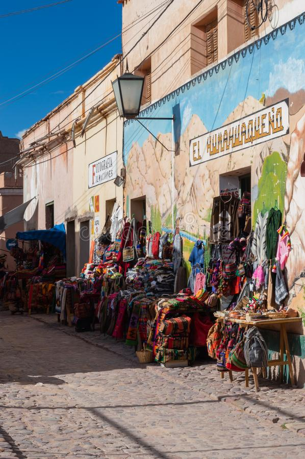 Humahuaca Jujuy Argentina arkivfoton