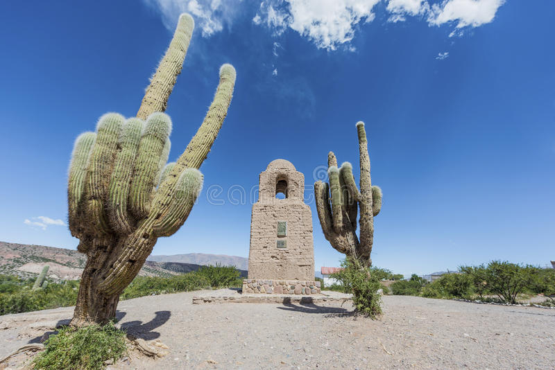 Humahuaca in Jujuy Province, Argentina. stock photo