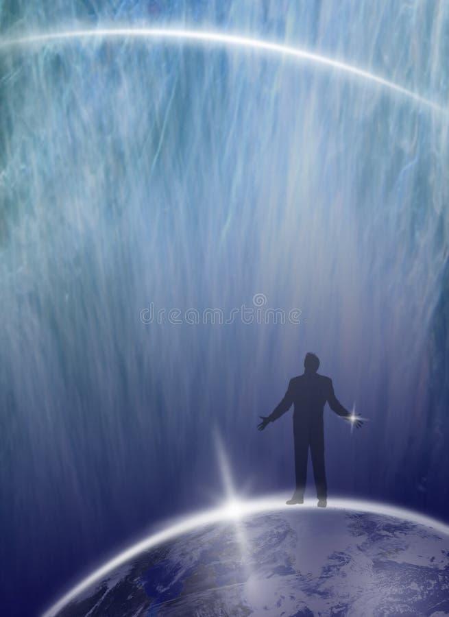Download Human Being Asking Universe... Stock Photo - Image: 7578442