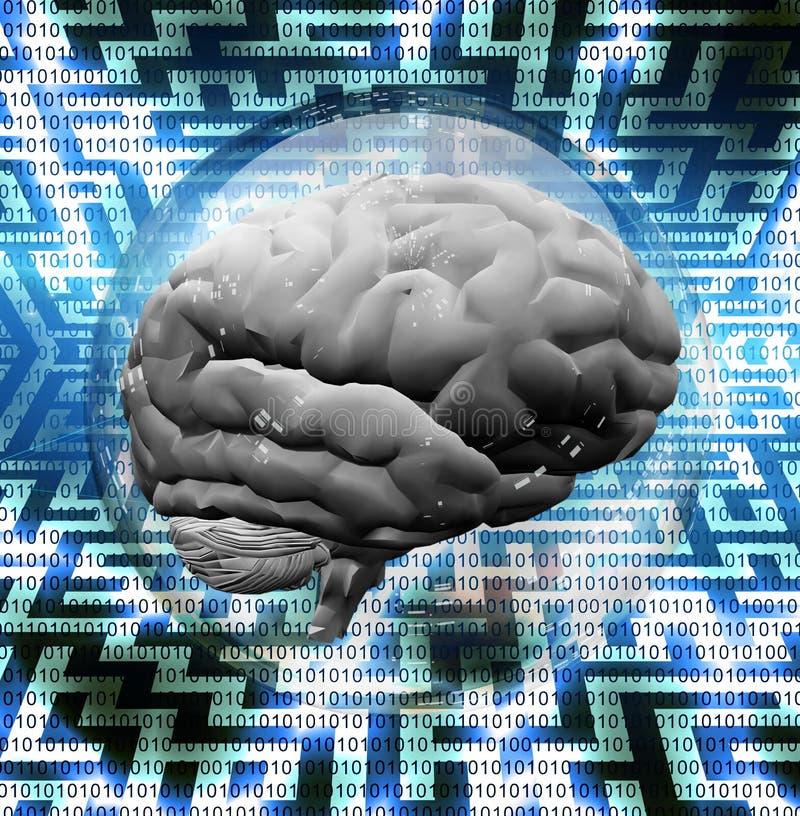 Brain Puzzle vector illustration