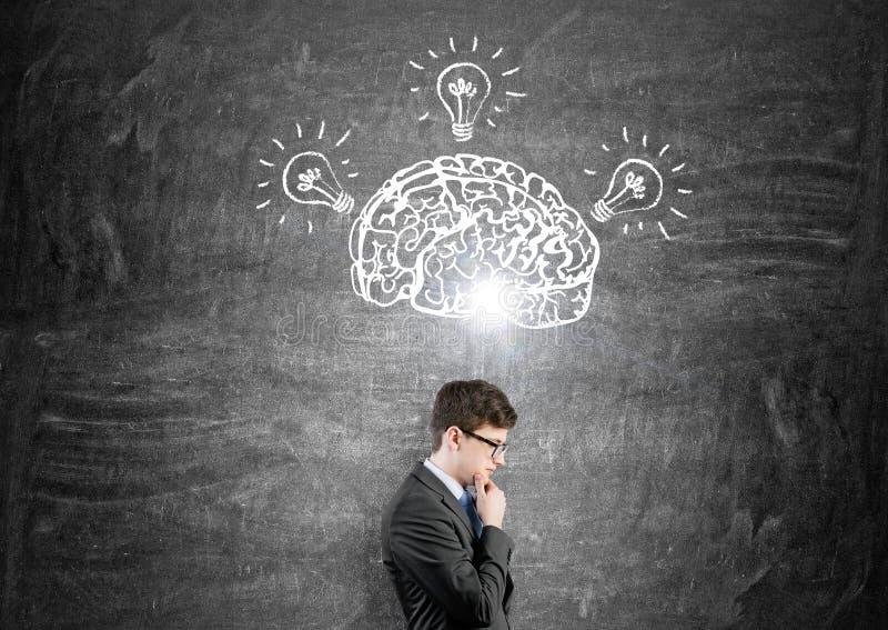 Human brain stock photos
