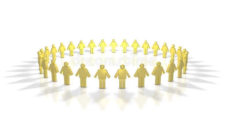 Download Human Circle stock illustration. Illustration of organization - 7088155