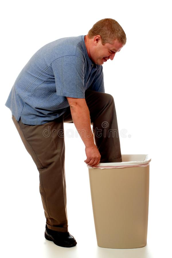 Human Compactor stock photography