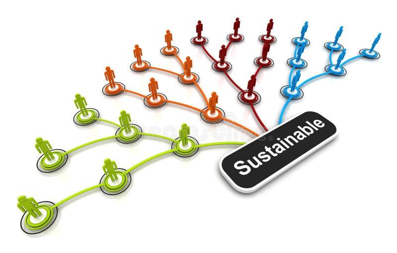 Download Human 3D Model Connection Link Organization Chart Stock Illustration - Illustration of line, businessman: 34357805
