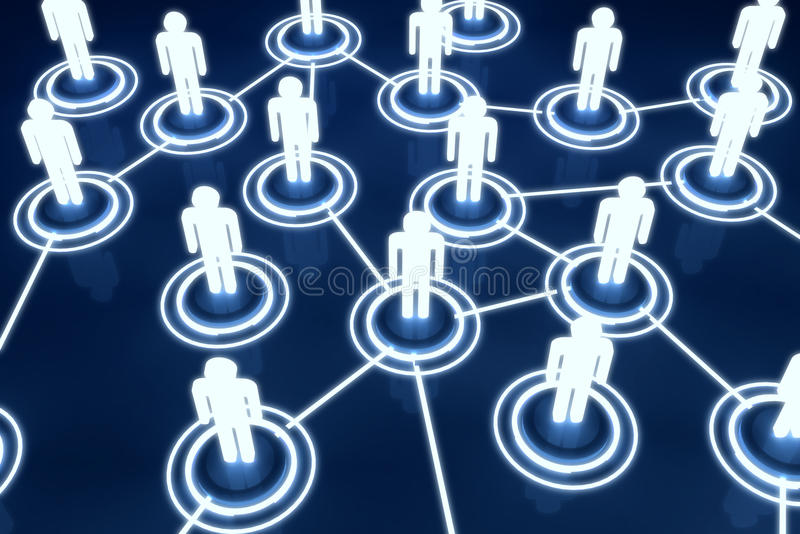 Download Human 3D Model Light Connection Link Organization Network Stock Illustration - Image: 34450336