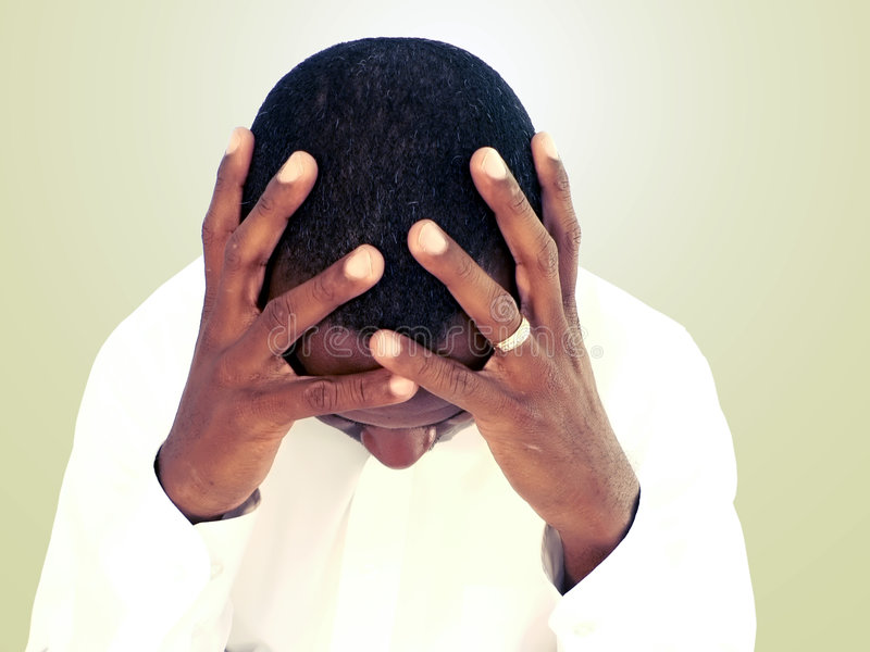 Download Human emotion - stress stock photo. Image of headache - 3491476