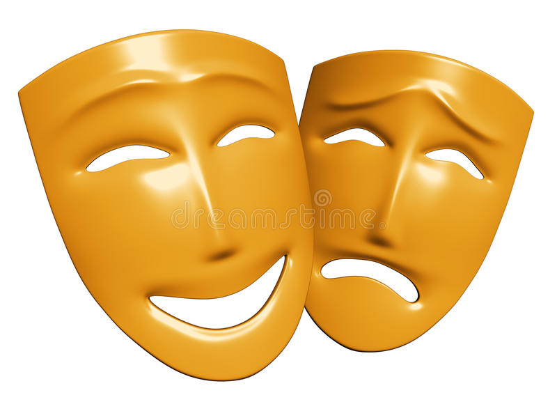 Human emotions stock photo