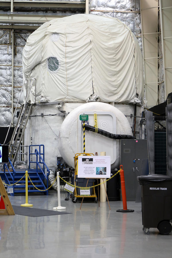 Human Exploration Research Analog (HERA). The Human Exploration Research Analog (HERA) is located at Johnson Space Center and is operated by NASA. HERA stock image