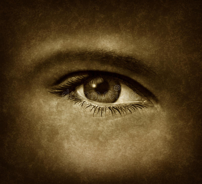 Download Human Eye With Grunge Texture Stock Photo - Image: 24356800