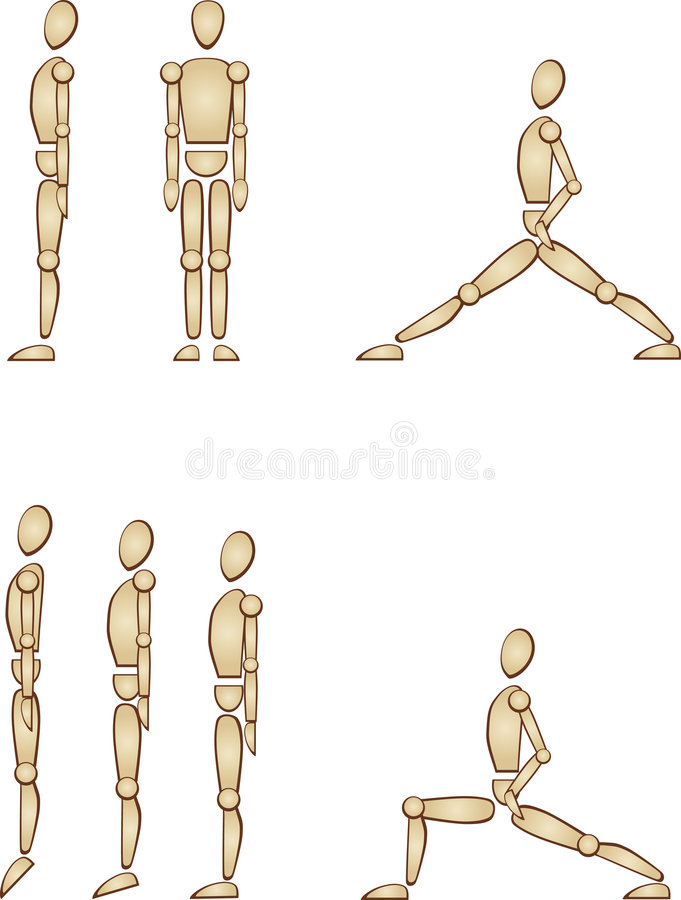 Human Figure Keep Fit Royalty Free Stock Photo