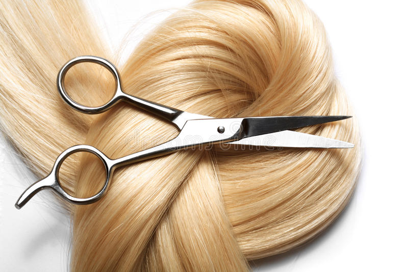 Human hair royalty free stock photos