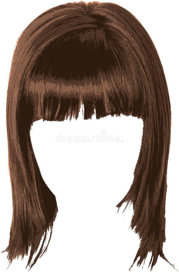 Download Human hair stock vector. Illustration of elegance, beauty - 9723095