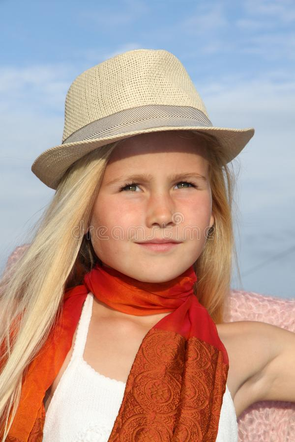 Human Hair Color, Sun Hat, Headgear, Hat stock image